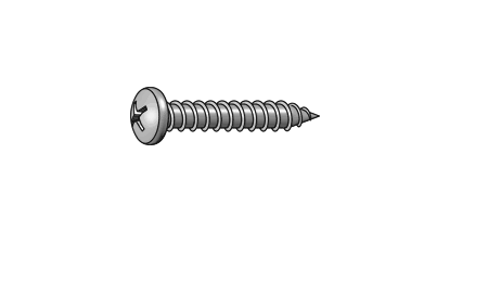pan head self tapping screw